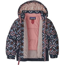 Patagonia Snow Veste en polaire Bébé Enfant, tundra cluster texture/rosebud pink